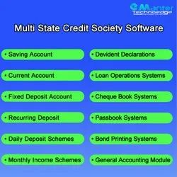 Multi State Credit Society Software