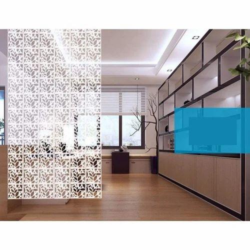 White Planet Decor Acrylic Room Divider Rs 3500 Set