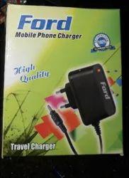 Black Travel 700 mAh 5V Simple Charger