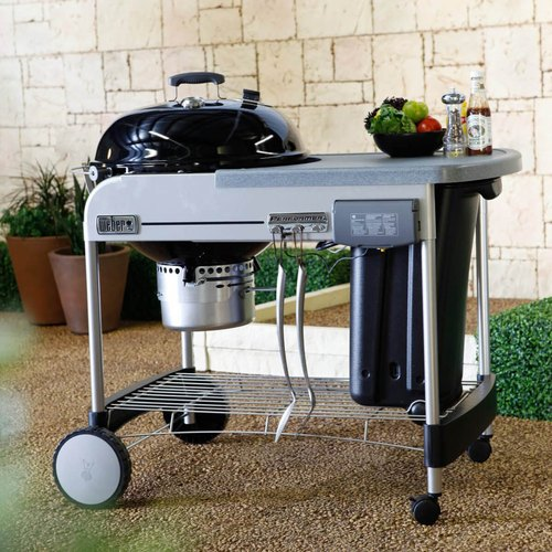 Weber Performer Premium.Weber Performer Premium Charcoal Grill 57cm
