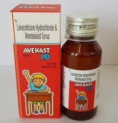 Levocetirizine HCL Montelukast Syrup