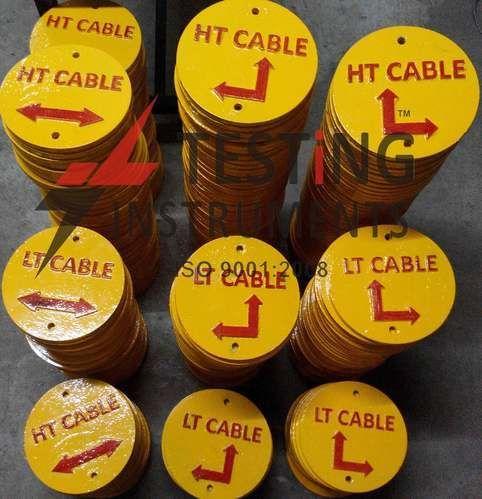 Aluminium Ht Cable Route Marker Size 4 Quot Amp 6 Quot For