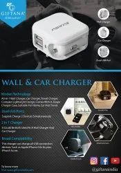 Wall And Car Charger - Giftana