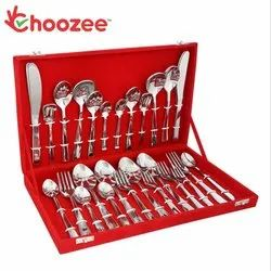 48-Pieces Designer Cutlery Set (Stainless Steel)