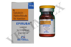 Epiruba 10mg  (Epirubicin Hydrochloride Injection)