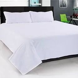 White Double Bed Bed Sheet