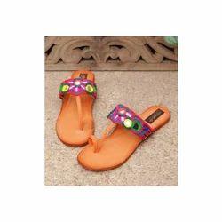 Lotus Crafts Banjara Slippers, Size: 8 to 9