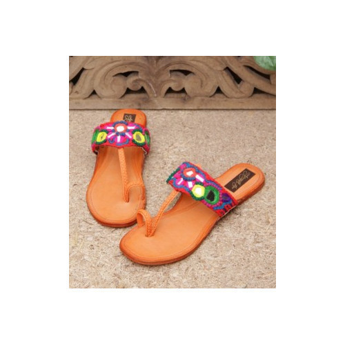 90346f10a0f6a Lotus Crafts Banjara Slippers,Size: 8 To 9, Rs 600 /pair | ID ...