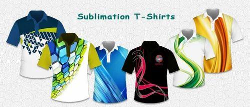 3a3f692f Customized Sublimation T-Shirts - Payal Hosiery, Delhi   ID: 14781118562