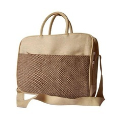 Brown Jute Messenger or Executive Bag, Size: Custom Sizes