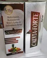 Multivitamins ,Multi Minerals With L-Lysine & Antioxidants Syrup