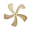 5 Blade Heavy Plastic Cooler Fan