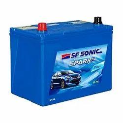 SF Sonic Spark z  Sp-70l  Automobile Battery  44 Months Warranty
