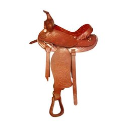 Close Contact Leather Horse Saddle