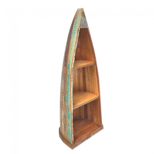 Wood Book Shelf Antique Book Case, for Home