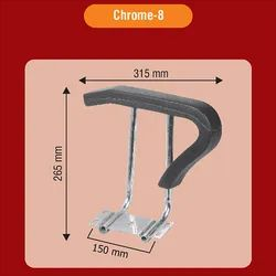 Chrome 8 Classic Chair Handle