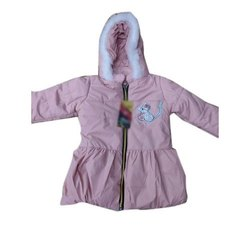 Zipper Kids Polyester Jacket