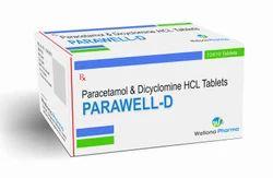 Paracetamol Dicyclomine Tablets