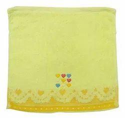 Ladies Yellow Cotton Handkerchief