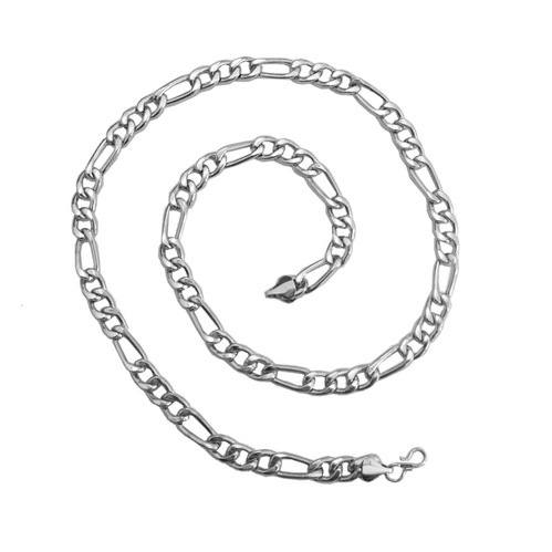 sterling chain necklace silver mens polished chains box sliver