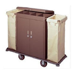 House Keeping Trolly With Door
