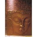 Metallic Effect Buddha Wall Mural