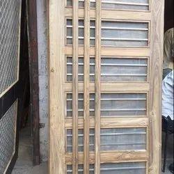 Original Sagwan Wood Jali Doors