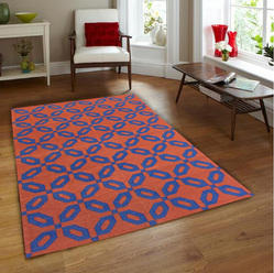 Cotton Flat Weave Rug Hand Woven Cotton Area Rug Indoor Rug