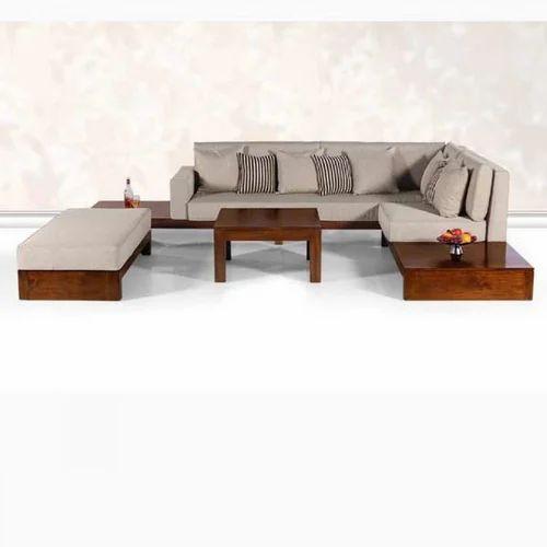 Modern Teak Wood Sofa Set At Rs 35000 Piece Landewadi Pune Id 15574263662