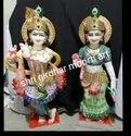 Radha Krishna Religious Marble Statues
