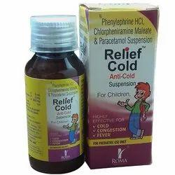 Chlorpheniramine Maleate 2mg,Paracetamol 250mg,Phenylepherine Hcl with Mono Carton