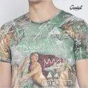 Printed Designer Sublimation T-shirt