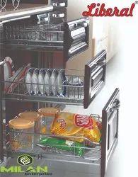 Wire Mesh Kitchen Basket