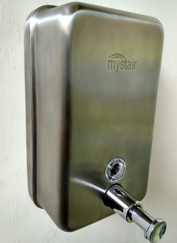 Mystair Brushed Stainless Steel Soap Dispenser Dimensionsize