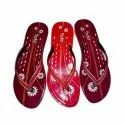 Daily Wear Ladies Pu Slippers