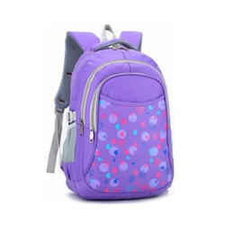 Corus Purple Girl School Bag