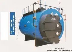 3 Pass Semi Wet Back Solid IBR Steam Boiler