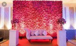 Anniversary Stage Flower Decoration in Delhi