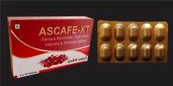 Ferrous Ascorbate, Folic Acid with Vitamins and Zinc Tablets
