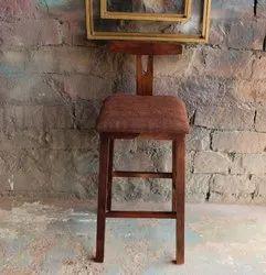 新玫瑰木与织物座椅高吧凳家具ND艺术出口酒吧椅