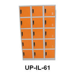Industrial Orange Lockers