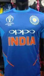 Dry Fit Half IPL India Team Jersey