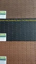 Smart WPC Decking - Butterfly Design