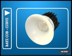 COB Downlight 8 Watt Rayz Curve Model