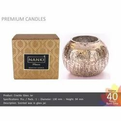Crackle Candles