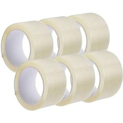 Transparent 2.5 inch 50 m BOPP Self Adhesive Packaging Tapes