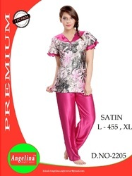 Satin Night Suit