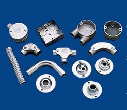Galvanized Sheet Metal Components