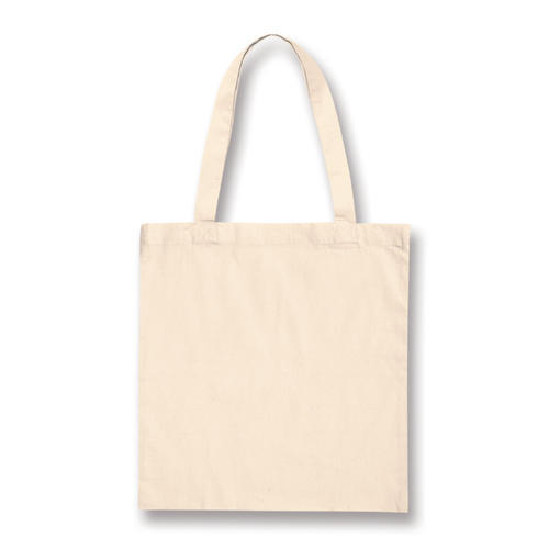 eeb56b39d5518 Plain Cotton Tote Bag, Size: 48*42 And 40*40 Cm, Rs 18 /piece | ID ...