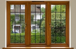 Wood Brown / White / Black / Wooden Wooden Designer Window, Square / Rectangle